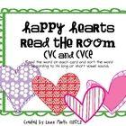 Happy Hearts Read the Room (cvc and cvce)