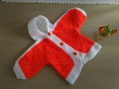 Como tejer saquito, chaqueta, chaleco a crochet para talle de 10 a 12 años. Medidas del motivo: La flor mide 7,6 cm aproximadamente. Un motivo del punto fant...