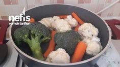 Yoğurtlu Karnabahar Brokoli Salatası - Nefis Yemek Tarifleri - Elizan Broccoli, Chicken, Meat, Vegetables, Food, Veggies, Essen, Veggie Food, Vegetable Recipes