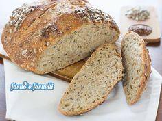 Il pane ai 5 cereali conquista tutti col suo gusto particolare e la croccantezza dei semini che sono al suo interno e sulla superficie: roba da intenditori!