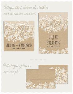 Déco table de mariage dentelle www.Dioton.fr
