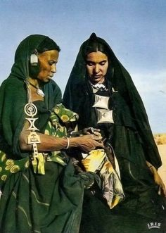 Tuareg women. Tilemsi valley region, Mali