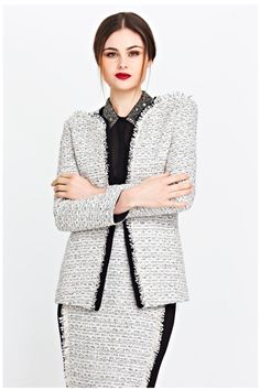 What to wear to the OFFICE: TRELISE COOPER'S BOARDROOM COLLECTION | ZsaZsa Bellagio - Like No Other January 8, The Office, Fashion Forward, What To Wear, Designers, Collections, Chic, Sweaters, Clothes