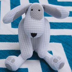 Safebreathe Patch breathable puppy dog soft toy