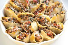 Spinach stuffed shells!