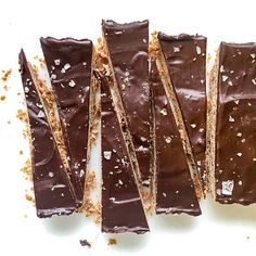 RECIPE:<br>Brown Butter Shortbread with Chocolate Ganache<br>11/2 sticks (12 tablespoons) unsalted…