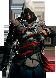 Assassin's Creed Black Flag - Edward Kenway by IvanCEs *