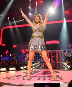 #TaylorSwift at the iHeartRadio Festival 2012 in Las Vegas.