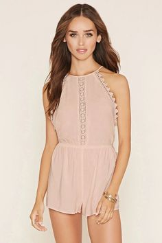 Summer must-haves from Forever 21. | Galleria Dallas | Forever 21 | Summer Style | Women's Fashion | Rompers | Lace Details