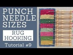 Oxford Punch Needle Sizes - YouTube