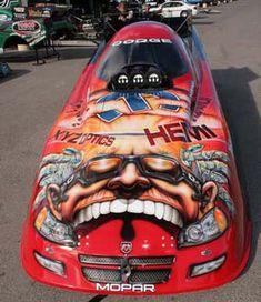 Gary Scelzi top fuel coupe