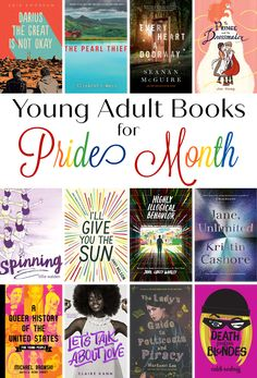 Intellectual Recreation: Young Adult Books for Pride Month Code Name Verity, Let's Talk About Love, Best Mysteries, Cute Stories, Historical Fiction, Thought Provoking, Memoirs, Breakup, Pride