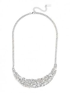 Crystal Crescent Pendant by Baublebar