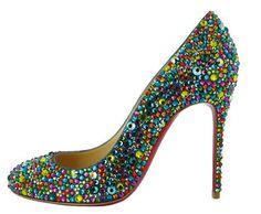 Cinderella red soles - #Louboutin SS 2013 #heels