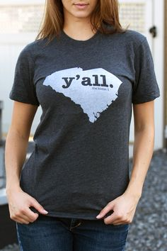 South Carolina Y'all T-Shirt