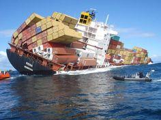 5. Stell dir vor, du bist Kapitän eines Containerschiffs und startest so in die Woche: