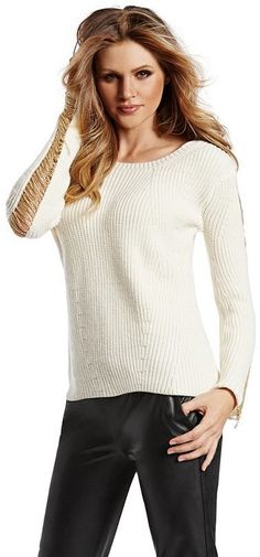 6f6fb0a32cfc GUESS by Marciano Isabeli Sweater on shopstyle.com