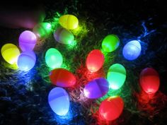 Have a glowing good time this summer with play that's perfect for the dark. It can be outdoors or inside with the lights dimmed; the choice is up to you! Scroll down to see shiny stars, glowing games and even simple...