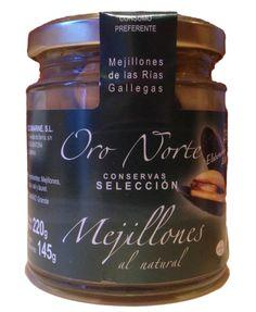 Mejillones en Escabeche. Mussels in brine.  #marenostrumgourmet.com Mussels, Natural, Spanish, Container, Gourmet, Preserve, Spain, Nature, Canisters