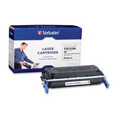 Verbatim 94954 HP C9723A LaserJet 4600 Series Replacement Laser Cartridge Magenta Toner by Verbatim. $90.11. Verbatim offers one of the most comprehensive lines of premium quality laser cartridges for today's most popular printers. Utilizing Mitsubishi technology, Verbatim OEM (Original Equipment Manufacturer) replacement cartridges feature a matched system of toner and components that are designed to work flawlessly together. Our color compatible laser cartridges use...