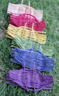 Woven Soapdish: An Easy Project For Kids