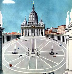 """This is Rome"" - M. Sasek http://www.michaelspornanimation.com/splog/wp-content/uploads/2013/06/Sasek10.jpg"