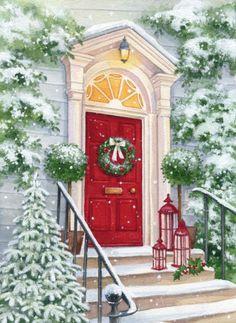 Lisa Alderson - LA -christmas Red Door