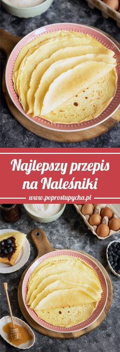 Nutella, Pancakes, Pierogi, Food And Drink, Baking, Dessert Ideas, Breakfast, Ethnic Recipes, Bob