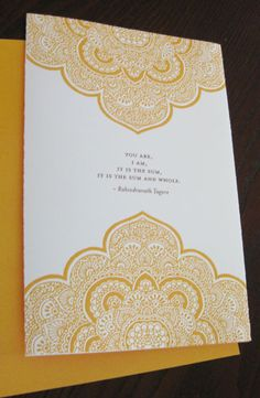 love the design on this invitation