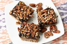 No Bake Pecan Pie Bars - Gluten-free, Raw and Vegan by Tasty Yummies on Flickr.Holiday Dessert Ideas, http://yourweightlossexperts.com/