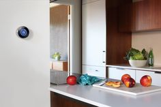 The Nest Smart Thermostat in Kitchen & other Smart Home Technologies - Home Technology Ideas