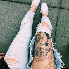 Discovered by vdouble_. Find images and videos about fashion, outfit and tattoo on We Heart It - the app to get lost in what you love.