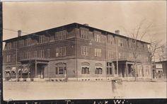 RP: Hotel Mitchell, Tomahawk, Wisconsin, PU-1908