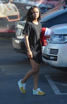 "celebritiesofcolor: "" Karrueche Tran picks up her new car in Los Angeles """
