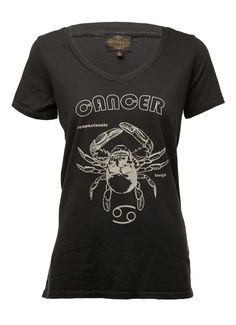 Sheehan & Co. Womens #Cancer Zodiac Tee