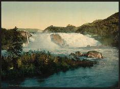 Øvre Leirfoss, Trondheim, Norway ca 1890-1900 Øvre Leirfosser en foss iNidelvamellom Leira og Sjetnan. Fossen har fra gammel tid skaffet energi til sagbruk og møller.  Møllebrukene hørte til Leira, og var fra 1863 bortforpaktet til Lars E. Sæther, fra 1873 til Halvor og Johan Qvammen og fra 1875 til Kristian Kolstad