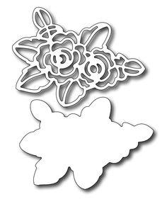 Frantic Stamper - Precision Dies - Stencil Rose (set of 2 dies),$13.99