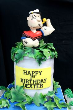1000 Images About Cakes Popeye On Pinterest The