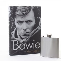 Hollow Book Safe and Whiskey Hip Flask- Bowie (DrinkingBuddy) Book Safe, Accessories Display, Drinking Buddies, Bowie, Flask, Whiskey, Etsy, Vintage, Whisky