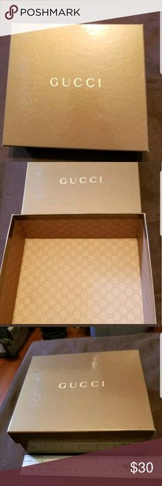 Spotted while shopping on Poshmark: Authentic Gucci box! #poshmark #fashion #shopping #style #Gucci #Other