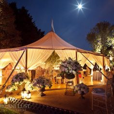 Sperry Tent - A leveled-floor Sperry Tent nestled in the cozy backyard of a homein Wilton, CT