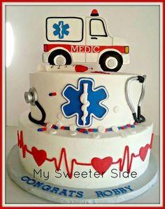 Sunday Sweets: Labors of Love — Cake Wrecks Crazy Cakes, Fancy Cakes, Cute Cakes, Cake Wrecks, Ambulance Cake, Fondant Cakes, Cupcake Cakes, Medical Cake, Doctor Cake