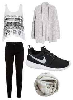"""""""Untitled #37"""" by tvj19 ❤ liked on Polyvore featuring Ally Fashion, Violeta by Mango, NIKE and Brunello Cucinelli"""