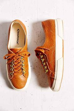 Superga X Man Repeller Cognac Bella Hiker Sneaker
