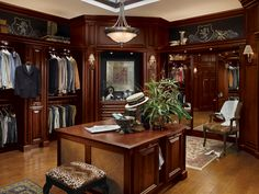 This should be my closet.  If they really want to sell it, they should fill it with women's clothes.