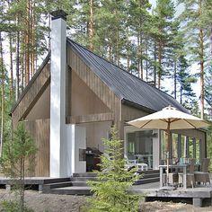 The villa in the village of Kuomiokoski Ristiina.