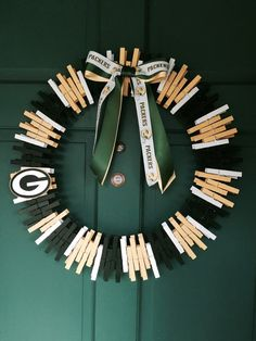 Green Bay Packers Wreath by RexFamilyShop on Etsy