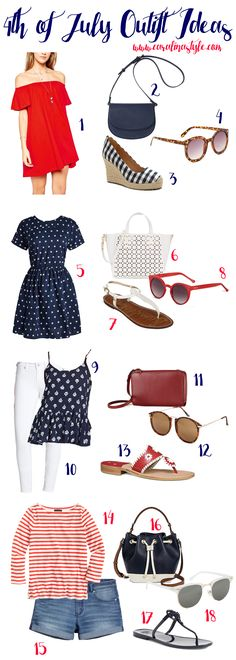 Caralina Style: 4th of July Outfit Ideas