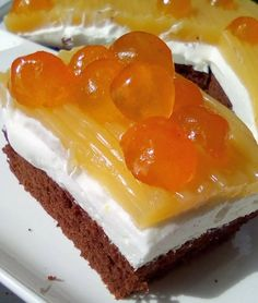Greek Desserts, Cooking Cake, Cheesecake, Pudding, Sweets, Food, Yummy Yummy, Gastronomia, Goodies