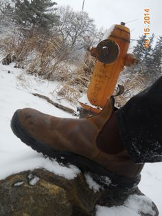 Extinguish 'em Blundstone Boots, they're on FIRE...#yourboots